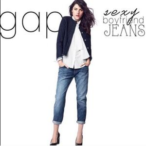 Gap Sexy Boyfriend Jeans Dark Wash Size 31